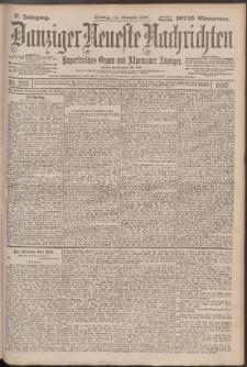 Danziger Neueste Nachrichten : unparteiisches Organ und allgemeiner Anzeiger 292/1897