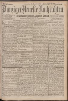 Danziger Neueste Nachrichten : unparteiisches Organ und allgemeiner Anzeiger 294/1897