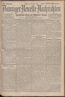 Danziger Neueste Nachrichten : unparteiisches Organ und allgemeiner Anzeiger 295/1897