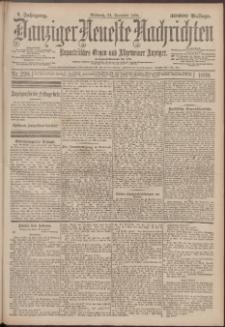 Danziger Neueste Nachrichten : unparteiisches Organ und allgemeiner Anzeiger 298/1897