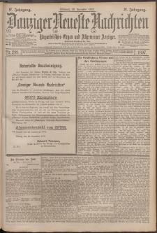 Danziger Neueste Nachrichten : unparteiisches Organ und allgemeiner Anzeiger 299/1897