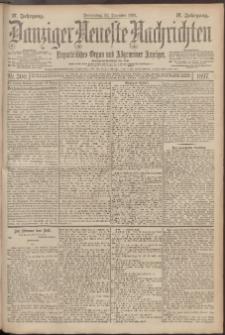 Danziger Neueste Nachrichten : unparteiisches Organ und allgemeiner Anzeiger 300/1897