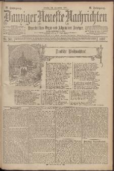 Danziger Neueste Nachrichten : unparteiisches Organ und allgemeiner Anzeiger 301/1897