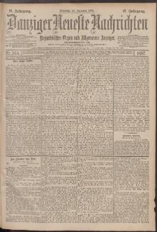 Danziger Neueste Nachrichten : unparteiisches Organ und allgemeiner Anzeiger 304/1897