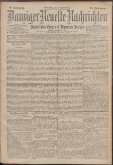 Danziger Neueste Nachrichten : unparteiisches Organ und allgemeiner Anzeiger 305/1897
