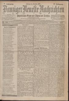 Danziger Neueste Nachrichten : unparteiisches Organ und allgemeiner Anzeiger 306/1897