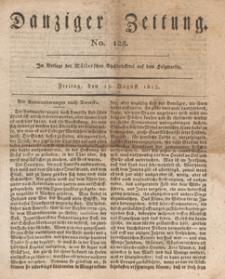 Danziger Zeitung, 1813.08.13 nr 128