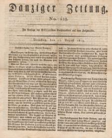 Danziger Zeitung, 1813.08.13 nr 128A
