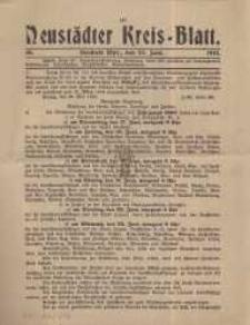 Neustadter Kreis - Blatt, nr.46, 1915