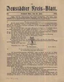 Neustadter Kreis - Blatt, nr.50, 1915