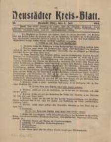 Neustadter Kreis - Blatt, nr.53, 1915