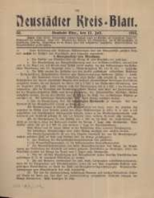 Neustadter Kreis - Blatt, nr.55, 1915
