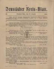 Neustadter Kreis - Blatt, nr.65, 1915