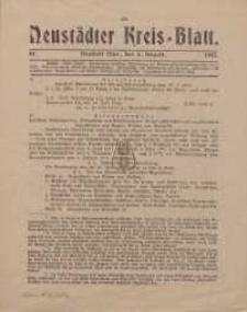 Neustadter Kreis - Blatt, nr.61, 1915