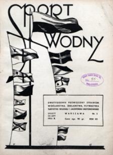 Sport Wodny, 1936, nr 2