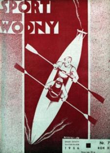 Sport Wodny, 1936, nr 7