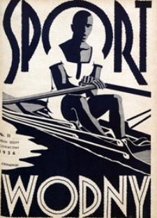 Sport Wodny, 1936, nr 11