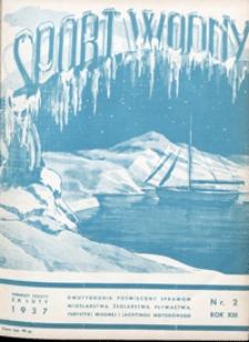 Sport Wodny, 1937, nr 2