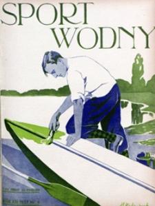 Sport Wodny, 1937, nr 6