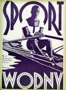 Sport Wodny, 1937, nr 11