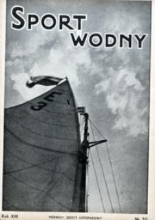 Sport Wodny, 1937, nr 20