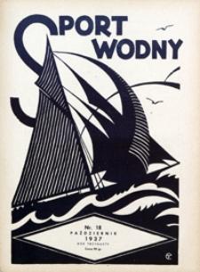 Sport Wodny, 1937, nr 18