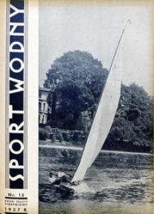 Sport Wodny, 1937, nr 15
