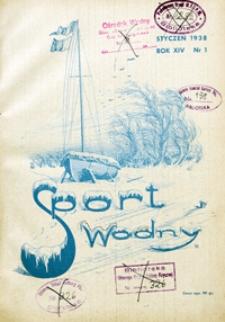 Sport Wodny, 1938, nr 1