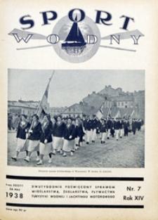 Sport Wodny, 1938, nr 7