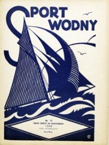 Sport Wodny, 1938, nr 19