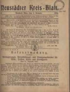 Neustadter Kreis - Blatt, nr.1, 1916