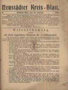 Neustadter Kreis - Blatt, nr.8, 1916