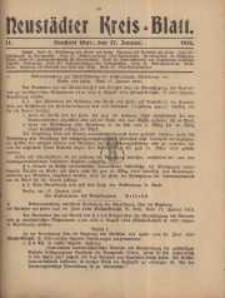 Neustadter Kreis - Blatt, nr.11, 1916