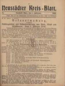 Neustadter Kreis - Blatt, nr.12, 1916