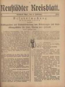 Neustadter Kreis - Blatt, nr.14, 1916