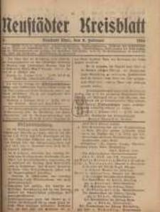 Neustadter Kreis - Blatt, nr.15, 1916