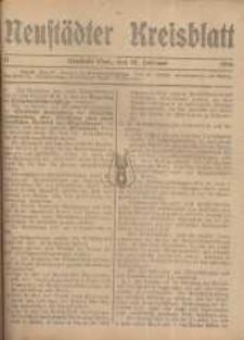 Neustadter Kreis - Blatt, nr.17, 1916
