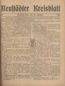 Neustadter Kreis - Blatt, nr.18, 1916