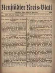 Neustadter Kreis - Blatt, nr.19, 1916