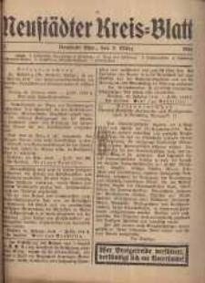 Neustadter Kreis - Blatt, nr.21, 1916